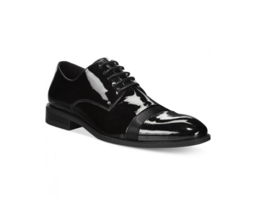 Bar Iii Corbin Patent Cap Toe Oxfords, Only at Macy's Men's Shoes