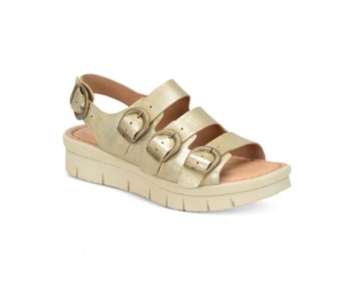 Born Azores Flatform Sandals Women's Shoes