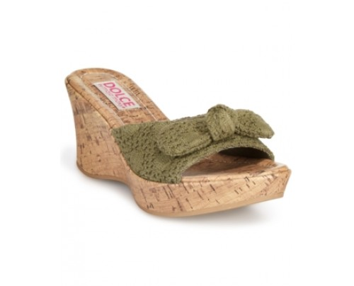 Dolce by Mojo Moxy Piper Platform Wedge Sandals Women's Shoes