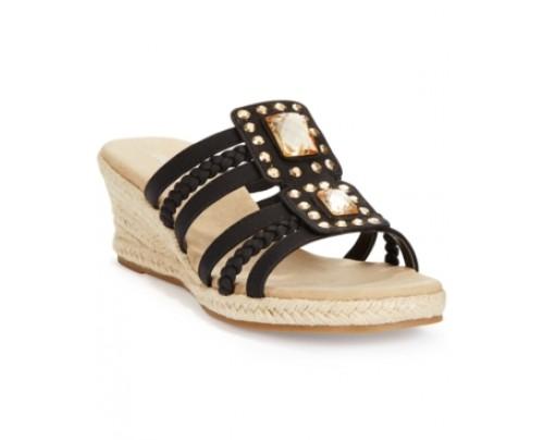 Easy Street Bazinga Wedge Sandals Women's Shoes