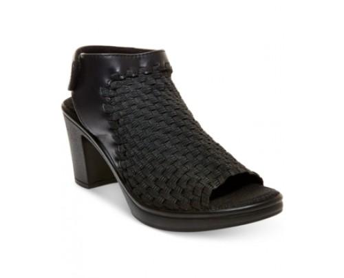 Steven by Steve Madden Ezzme Peep-Toe Sandals Women's Shoes