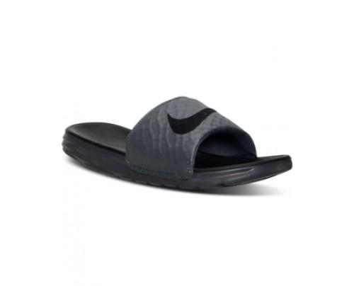632659e1129b Nike Men s Benassi Solarsoft Slide 2 Sandals from Finish Line