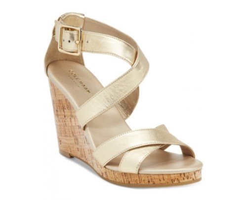 Cole Haan Jillian Strappy Wedge Sandals Women's Shoes