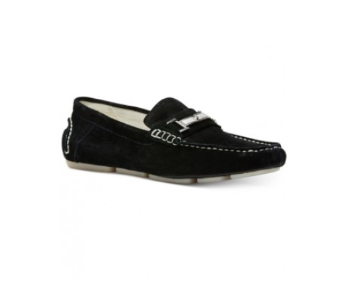 Calvin Klein Men's Magnus Suede Drivers Men's Shoes