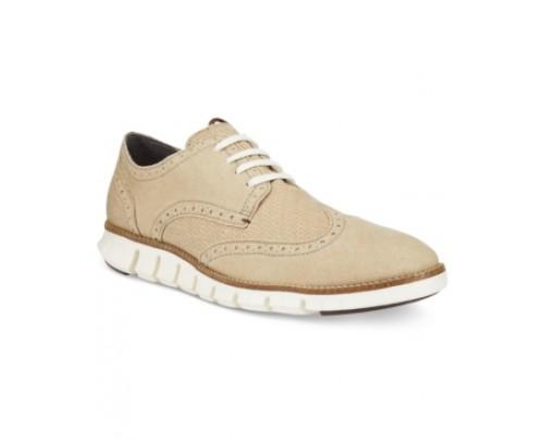 Cole Haan Men's Zero Grand Deconstructed Wing Tip Sneakers Men's Shoes