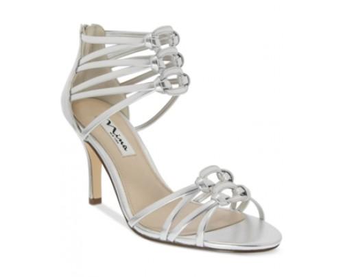 Nina Vetta Strappy Evening Sandals Women's Shoes