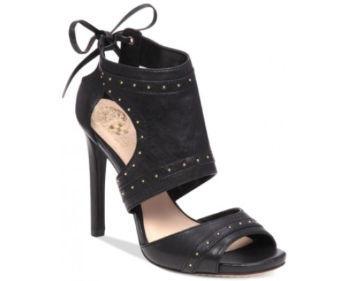 Vince Camuto Roux Embellished Lace-Up Dress Sandals Women's Shoes