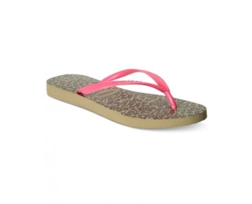 Havaianas Women's Slim Animal Flip-Flop Sandals Women's Shoes
