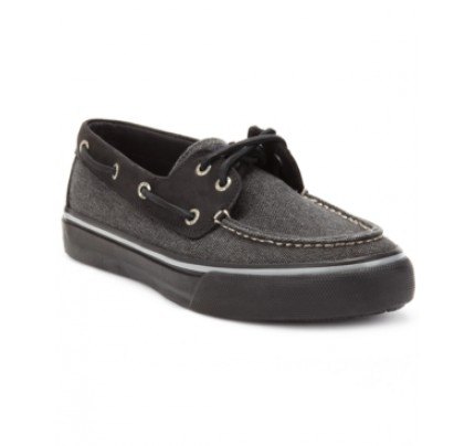 Sperry Men's Bahama 2-Eye Heavy Canvas Boat Shoes Men's Shoes